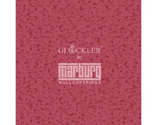 Vliestapete Glööckler Deux Uni rot/fuchsia