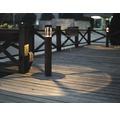 LED Außensockelleuchte 1x5W 170 lm 3000 K warmweiß H 650 mm Fenix dunkelgrau