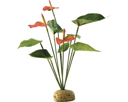 Kunstoffpflanze Exo Terra Flamingoblume