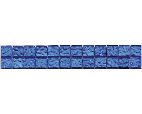 Glasbordüre Deep Sea blau 4,8x29,8 cm