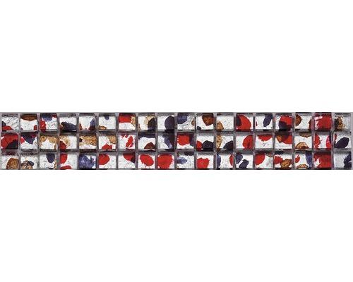 Glasbordüre Koi 4,8x29,8 cm