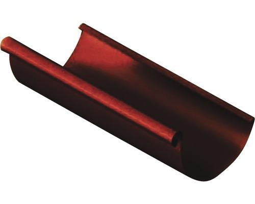 Precit Dachrinne chocolate brown NW 125mm Länge: 3,00m Größe 280