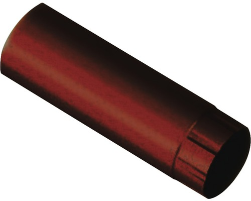 PRECIT Fallrohr chocolate brown NW 87mm Länge: 1,00m