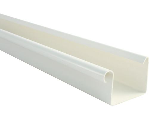 Marley Kastenrinne Nennweite 70mm weiß Länge 1,00m