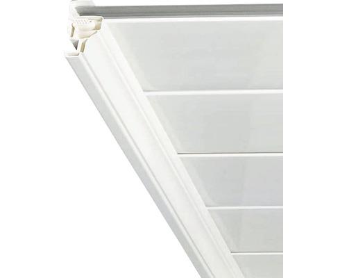 Hohlkehlleiste Kunststoff weiß für Paneelstärke 8-10 mm 11x11x2600 mm