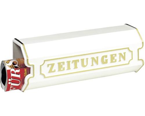 Burg Wächter Zeitungsbox Metall BxHxT 420/150/112 mm weiß