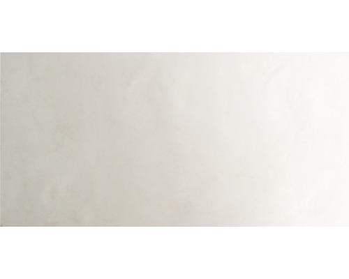 Steingut Wandfliese Creme 30 x 60 cm
