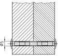 Möbelgriffschrauben M4x22 mm 100 Stück