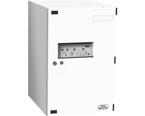 Burg Wächter Paketbox eBoxx Metall verzinkt BxHxT 380/575/450 mm E 634 weiß