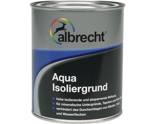 Albrecht Aqua Isoliergrund weiß matt 2,5 l