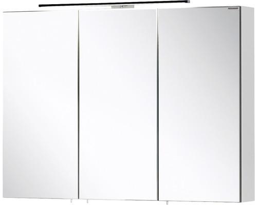 Spiegelschrank FACKELMANN Vadea weiß 3 Türen 90x68 cm