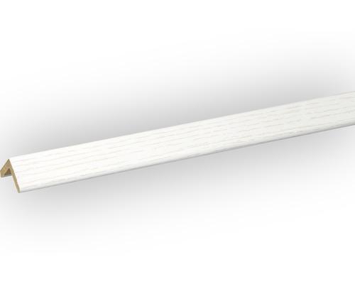 Winkelleiste Esche weiß 22x22x2400 mm