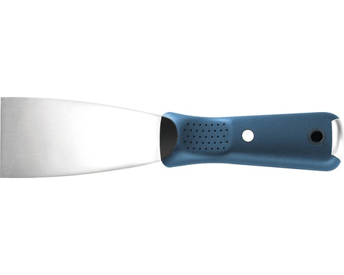 Edelstahl-Spachtel Soft-Grip 75 mm