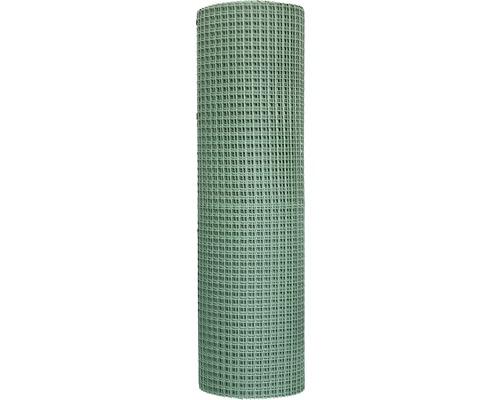 Quadratgewebe Maschenweite 2 cm (Meterware) 100 cm, Grün