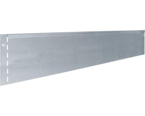 3x Rasenkante Metall 118 x 12 cm Beetumrandung Kanteneinfassung