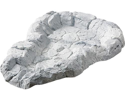 Bachlaufschale Heissner Felsgrau 43x62cm Mit Schlauchanschluss Bei Hornbach Kaufen