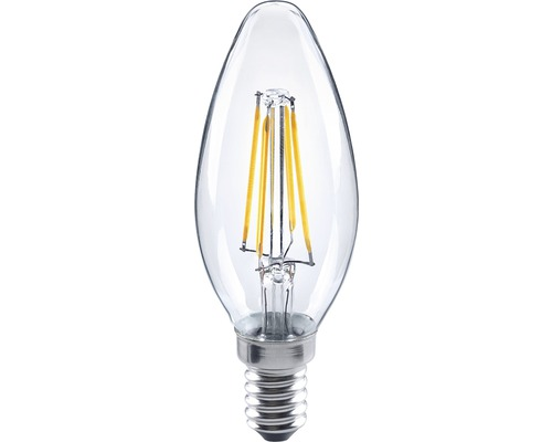FLAIR LED Kerzenlampe C35 E14/4W(34W) Filament klar 350 lm 2700 K warmweiß