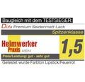 Buntlack Hybridlack Möbellack seidenmatt RAL 5010 enzianblau 375 ml