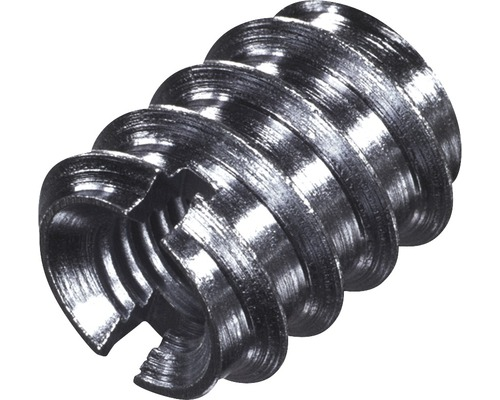 Einschraubmutter DIN 7965 8x14x18 mm galv. verzinkt, 100 Stück