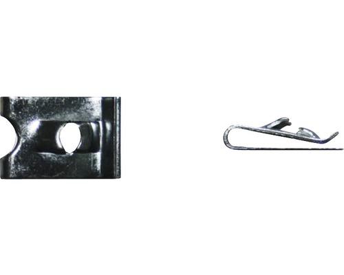 Blechmutter Ø 3,5 mm galv. verzinkt, 100 Stück