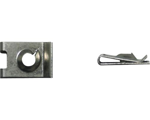 Blechmutter Ø 4,8 mm galv. verzinkt, 100 Stück