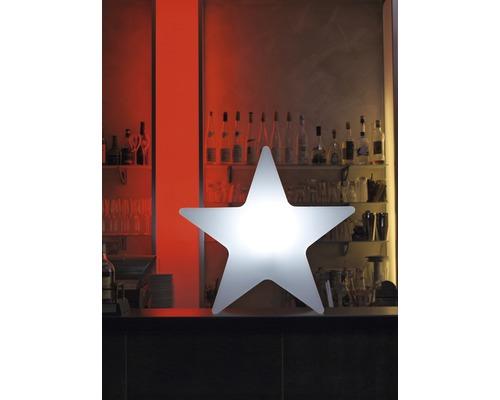 Leuchtstern 8Seasons Shining Star außen und innen Ø 80 cm weiß