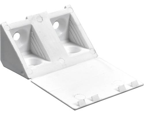 Universal Eckverbinder, weiß 20x20x43 mm, 20 Stück