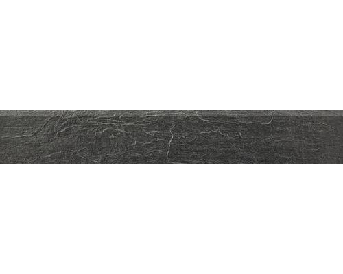Sockel Cliff schwarz 9,5x60 cm