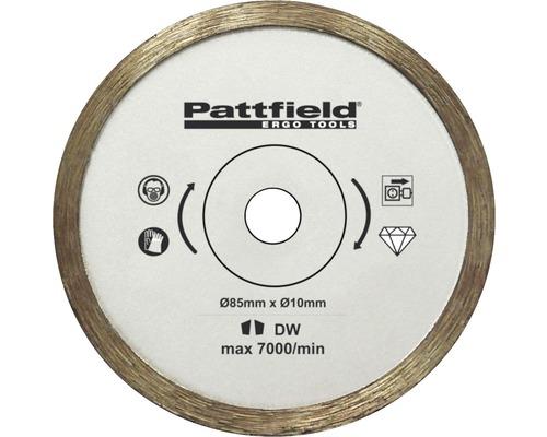 Mini-Kreissägeblatt Pattfield Ø 85 mm Fliesen