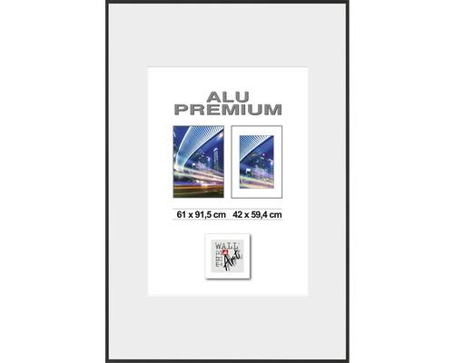 Bilderrahmen Posterrahmen Alu Duo schwarz 61x91,5 cm