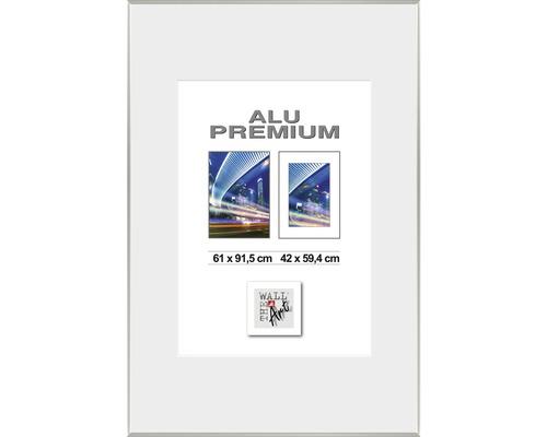 Bilderrahmen Posterrahmen Alu Duo silber 61x91,5 cm
