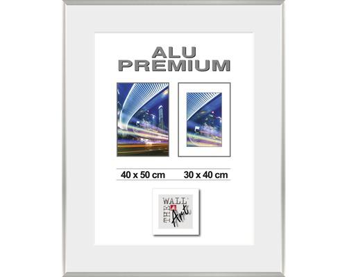Bilderrahmen Alu Duo silber 40x50 cm