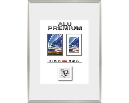 Bilderrahmen Alu Duo silber 21x29,7 cm (DIN A4)