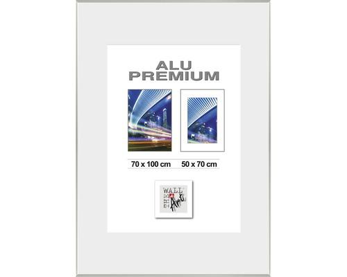 Bilderrahmen Alu Duo silber 70x100 cm