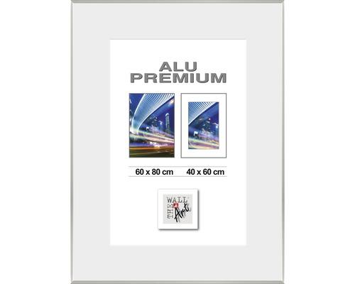 Bilderrahmen Alu Duo silber 60x80 cm