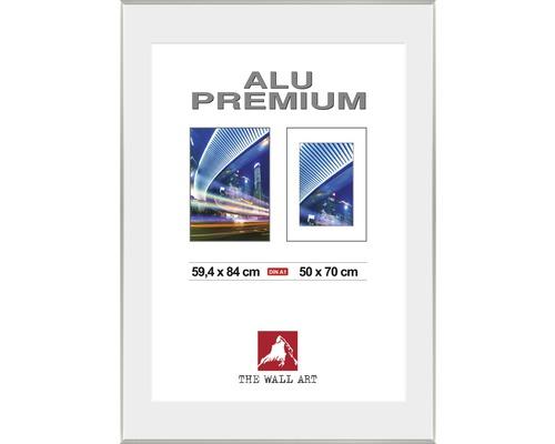 Bilderrahmen Alu Duo silber 59,4x84 cm (DIN A 1)
