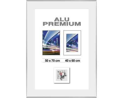 Bilderrahmen Alu Duo silber 50x70 cm