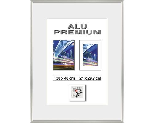 Bilderrahmen Alu Duo silber 24x30 cm