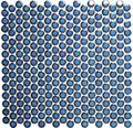 Keramikmosaik Knopf 451 30,2x33 cm kobaldblau