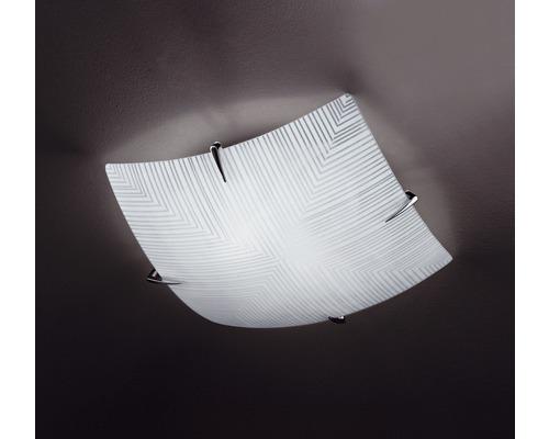 Deckenleuchte Tira 2-flammig weiß, 35 x 35 cm