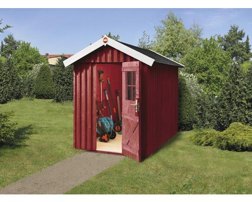Gerätehaus weka Öland Gr.1 mit Fußboden 162 x 168 cm schwedenrot