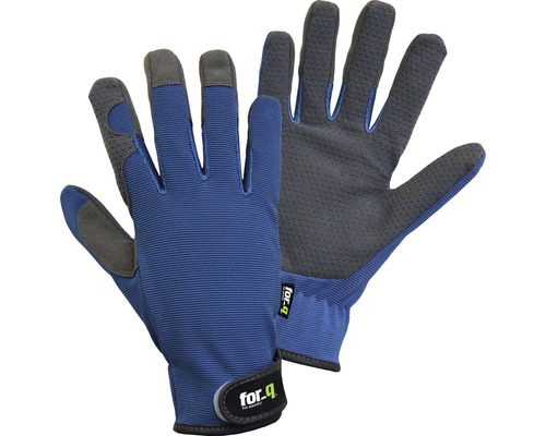 Gartenhandschuhe for_q Gardening, Gr. XL, blau-grau