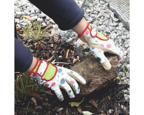Gartenhandschuhe for_q Retro, Gr. M, beige