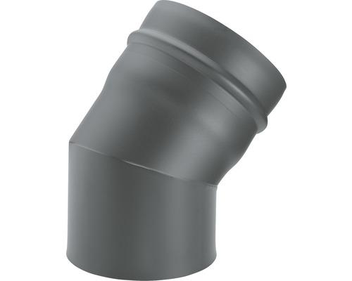 Ofenrohr-Bogen 45° Ø80 mm Senotherm lackiert gussgrau