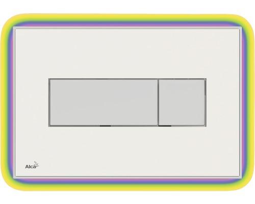 Betätigungsplatte Komfort mit Beleuchtung weiß / rainbow