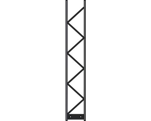Pfosten Palo 200 20 x 120 cm, silber