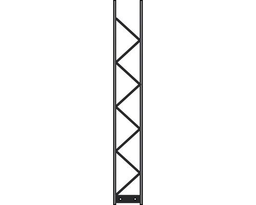 Pfosten Palo 200 20 x 140 cm, silber