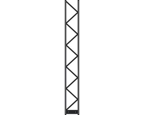 Pfosten Palo 200 20 x 160 cm, silber