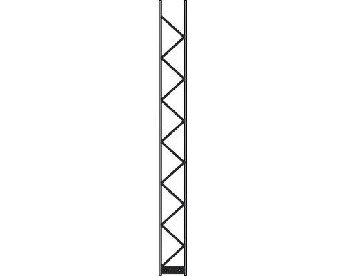 Pfosten Palo 200 20 x 200 cm, silber