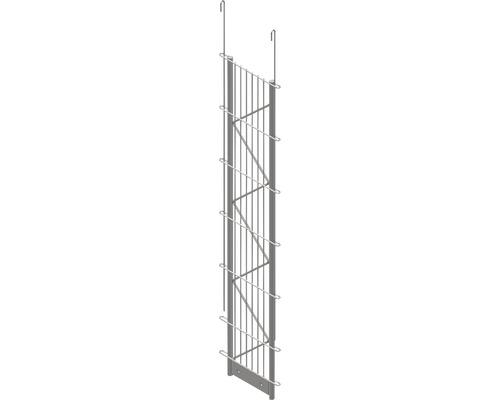 Einfach-Pfosten Palo Fix 120 cm, silber